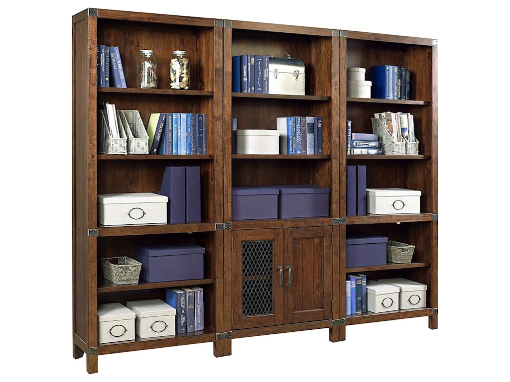 Aspenhome CanfieldOpen Bookcase