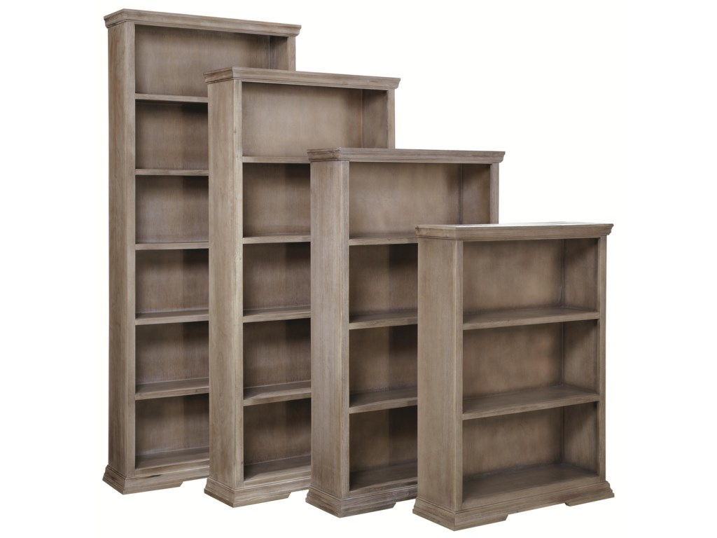 Shown with 84-Inch, 72-Inch and 60-Inch Bookcases