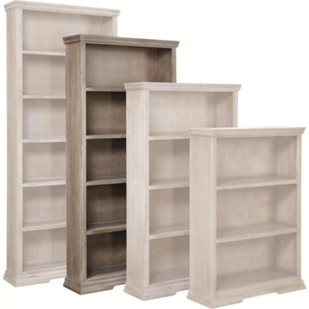 """72"""" Bookcase with 4 Fixed Shelves"""