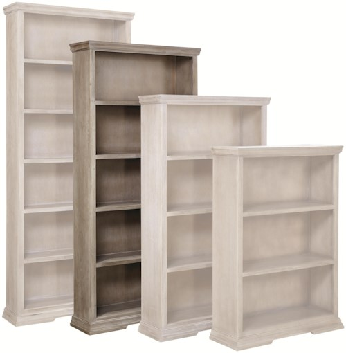 Aspenhome (Clackamas Store Only) Canyon Creek 72-Inch Bookcase with 4 Fixed Shelves