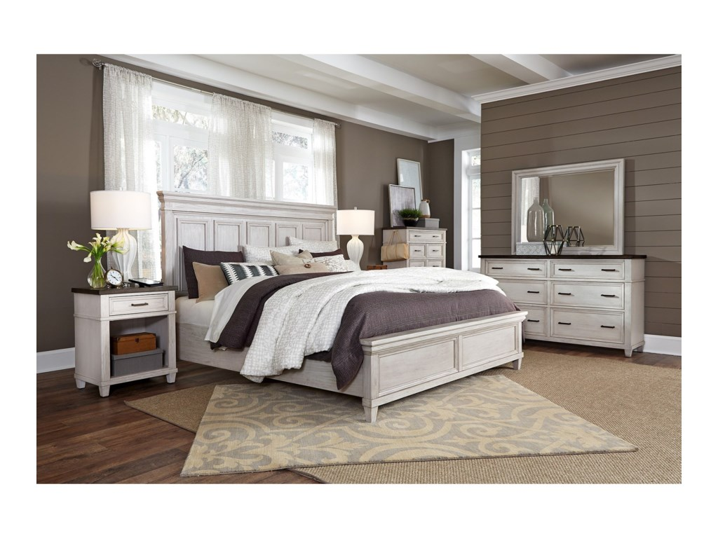 Aspenhome CarawayKing Bedroom Group