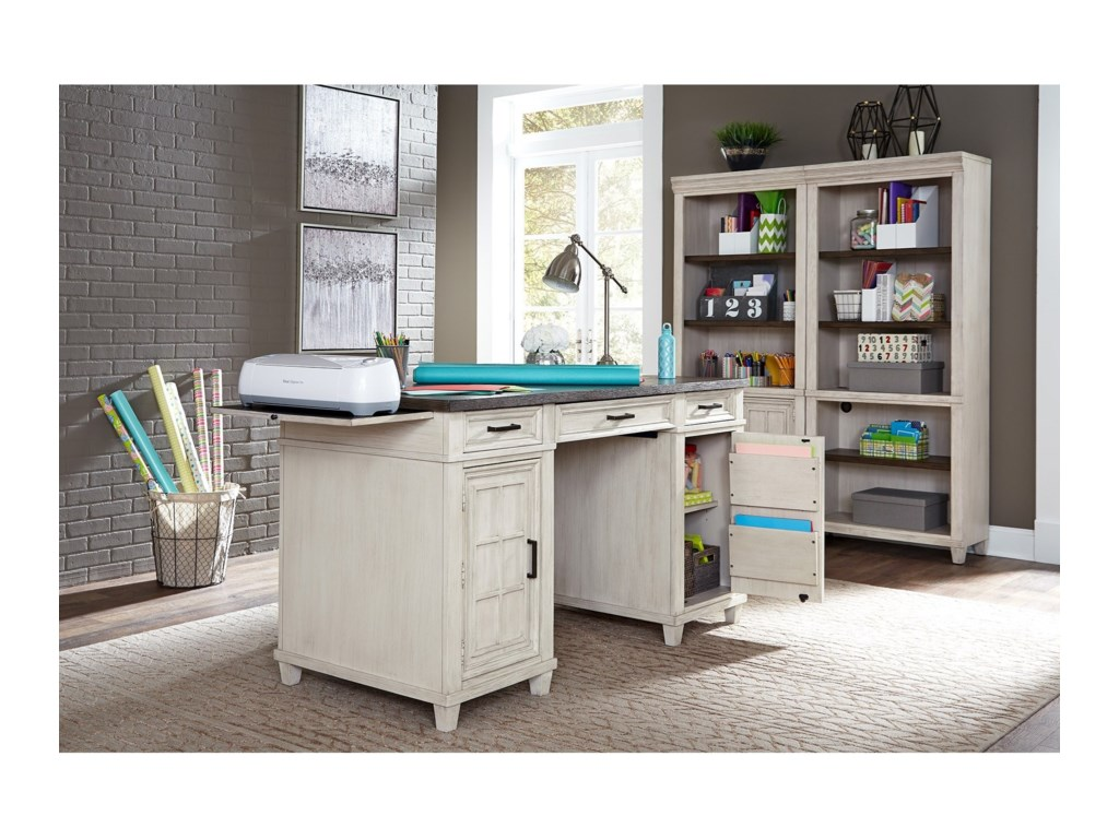 Aspenhome CarawayCounter Height Desk