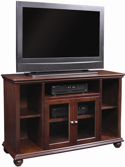 Aspenhome Casual Traditional 51-Inch Highboy Television Console