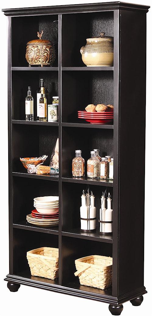 Aspenhome Casual Traditional 77-Inch Cube Bookcase