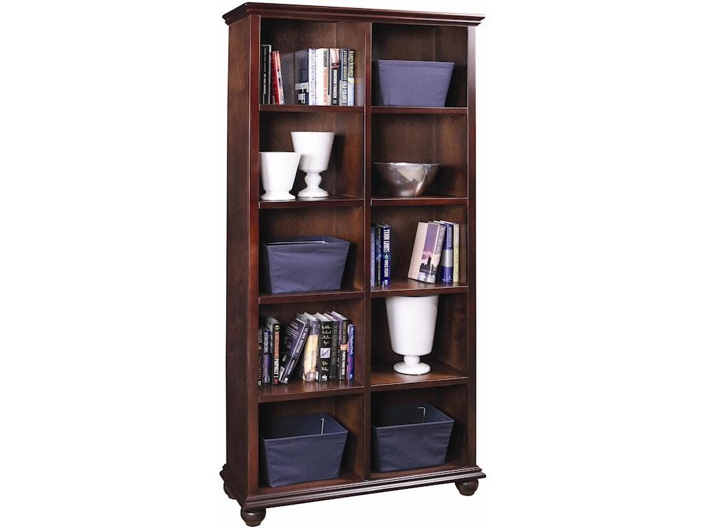 Aspenhome Casual Traditional77-Inch Bookcase