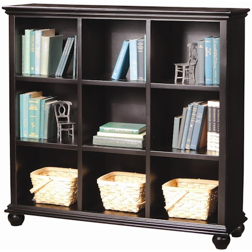 Aspenhome Casual Traditional 48-Inch Cube Bookcase