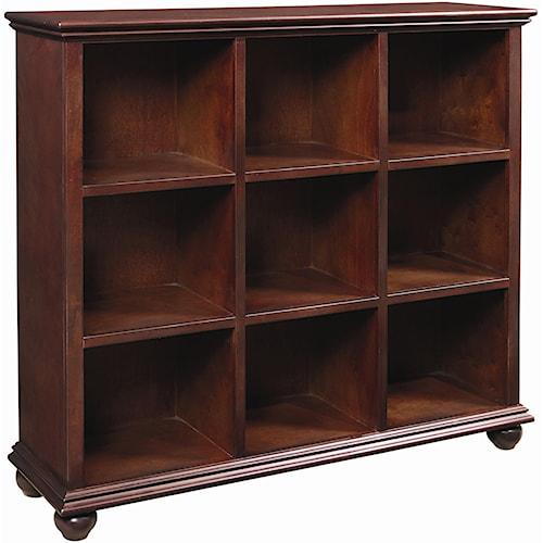 Aspenhome Casual Traditional 48-Inch Cube Bookcase