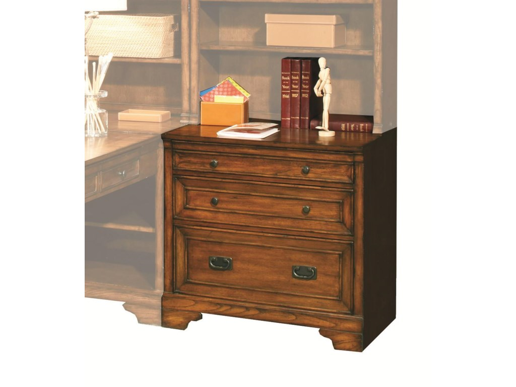 Aspenhome Centennial32-Inch Drawer/File Unit