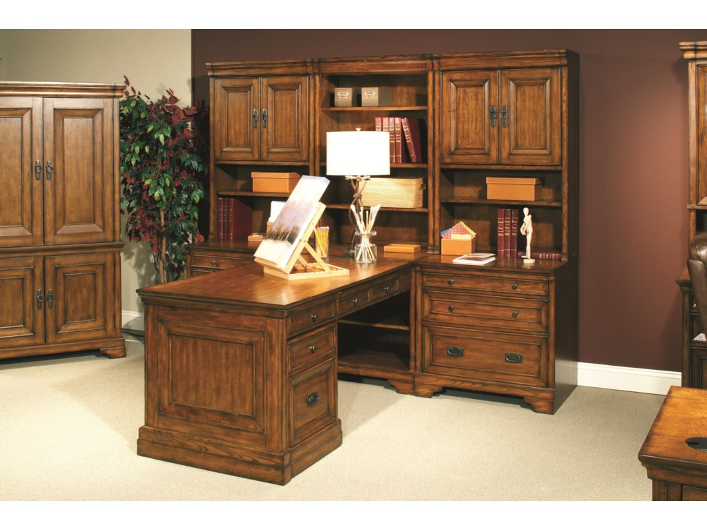 Shown as Component of Modular Office Wall