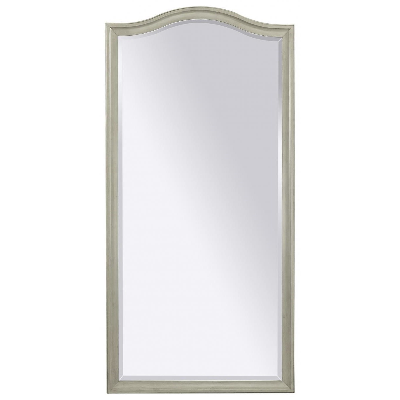 Transitional Floor Mirror
