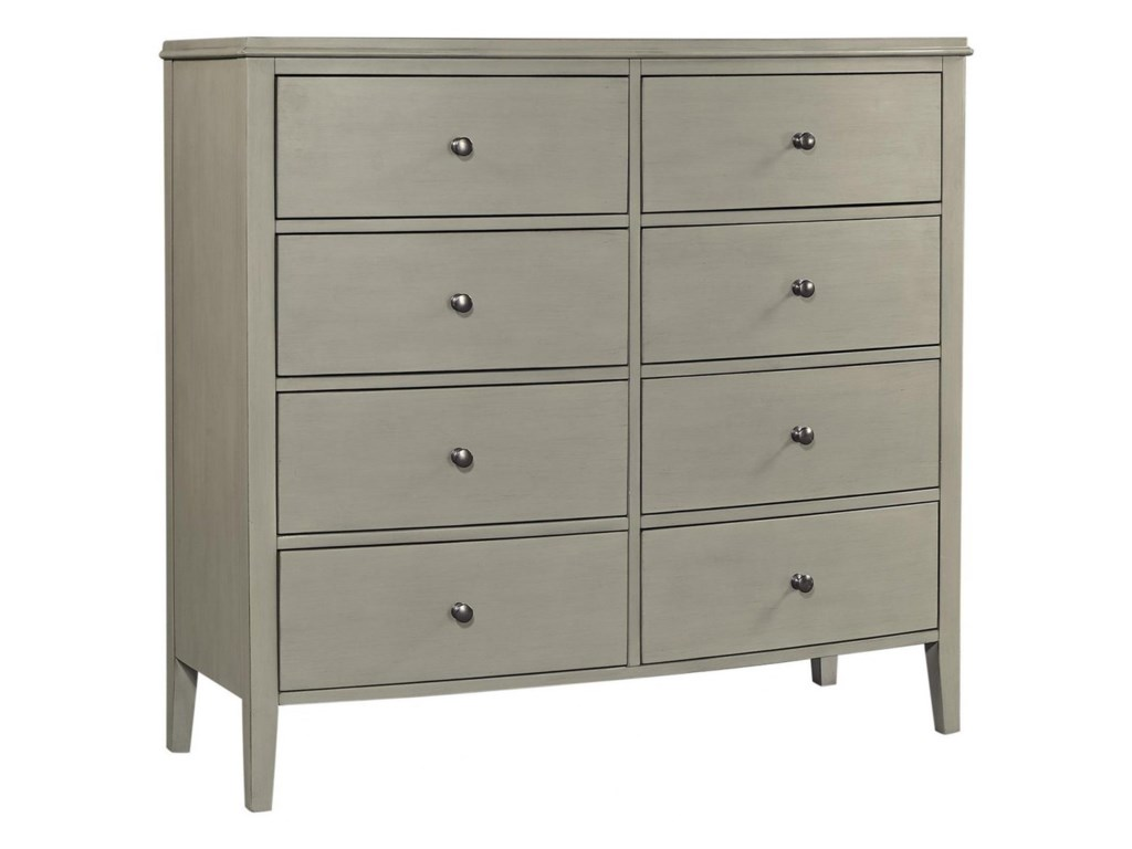 Aspenhome Charlotte 8 Drawer Chesser