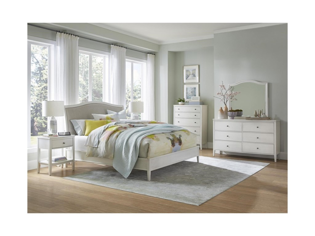 Aspenhome Charlotte 8 Drawer Chesser with Mirror