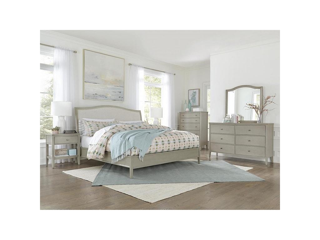 Aspenhome Charlotte Queen Bedroom Group