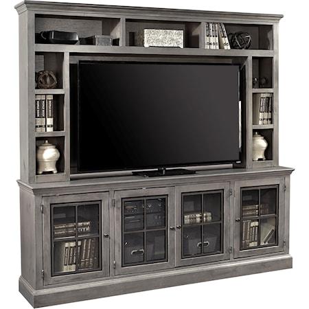 """84"""" TV Console and Hutch"""