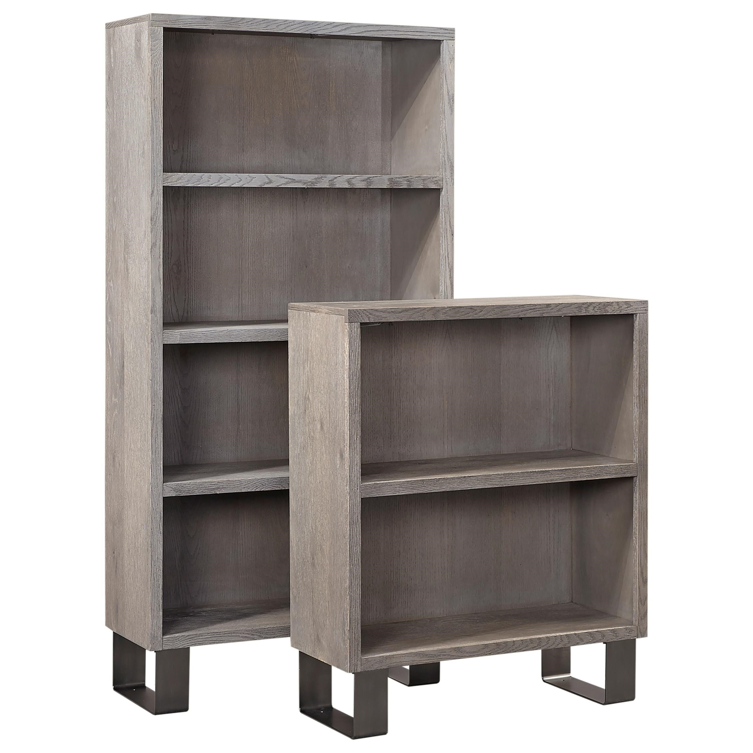 Cityscape Contemporary 53 Tall Bookcase With Three Shelves By Aspenhome Clackamas Store Only