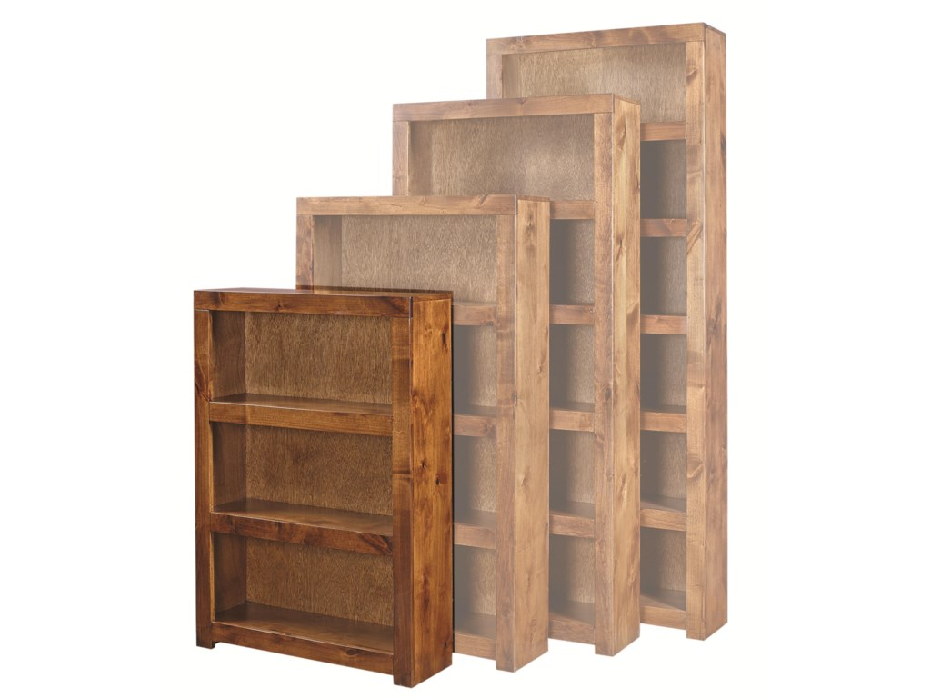 Aspenhome Contemporary Alder48 Inch Bookcase