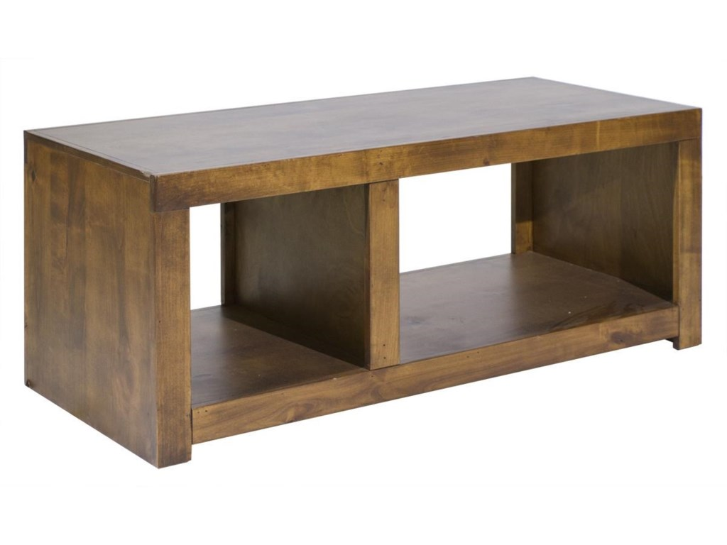 Aspenhome Contemporary AlderCocktail Table