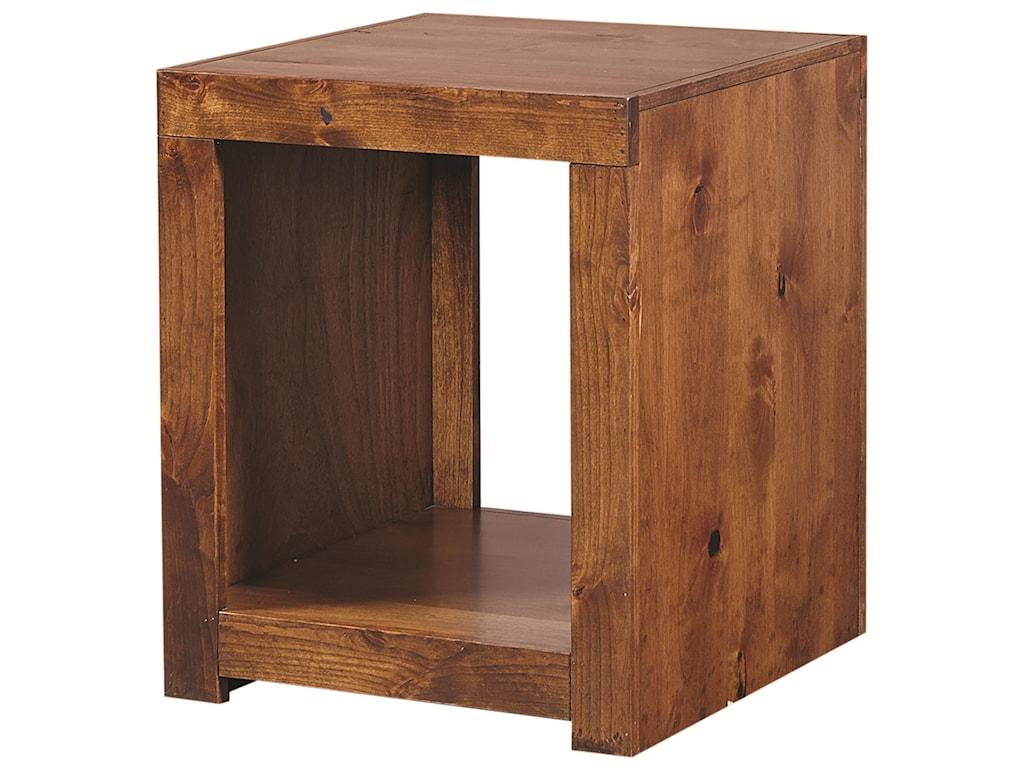 Aspenhome Contemporary AlderEnd Table