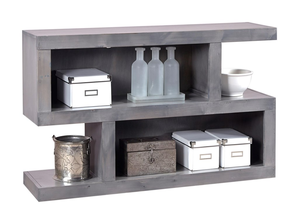 Aspenhome Contemporary AlderConsole Table