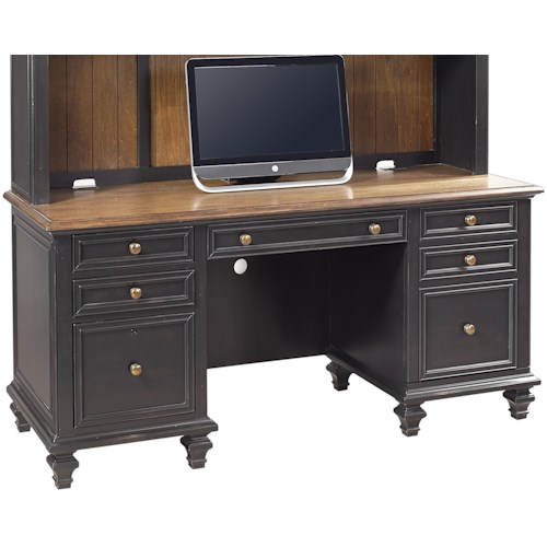 Aspenhome (Clackamas Store Only) Ravenwood Credenza  with Pullout Printer Tray