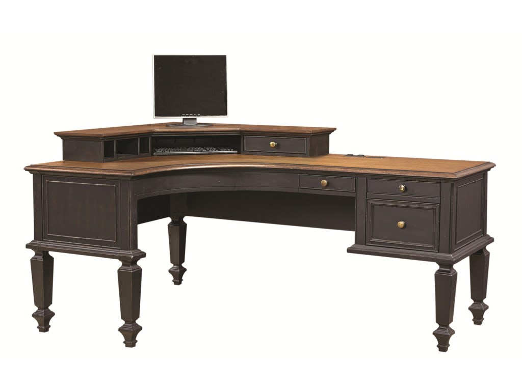 Aspenhome RavenwoodDesk and Hutch