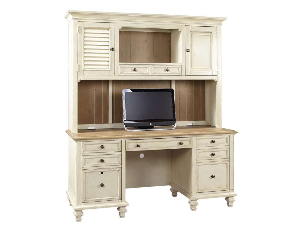 Aspenhome CottonwoodCredenza with Hutch