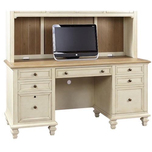 Aspenhome Cottonwood Credenza  with Pullout Printer Tray