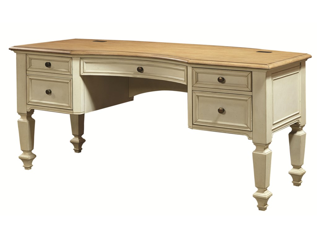 Aspenhome CottonwoodPedestal Desk