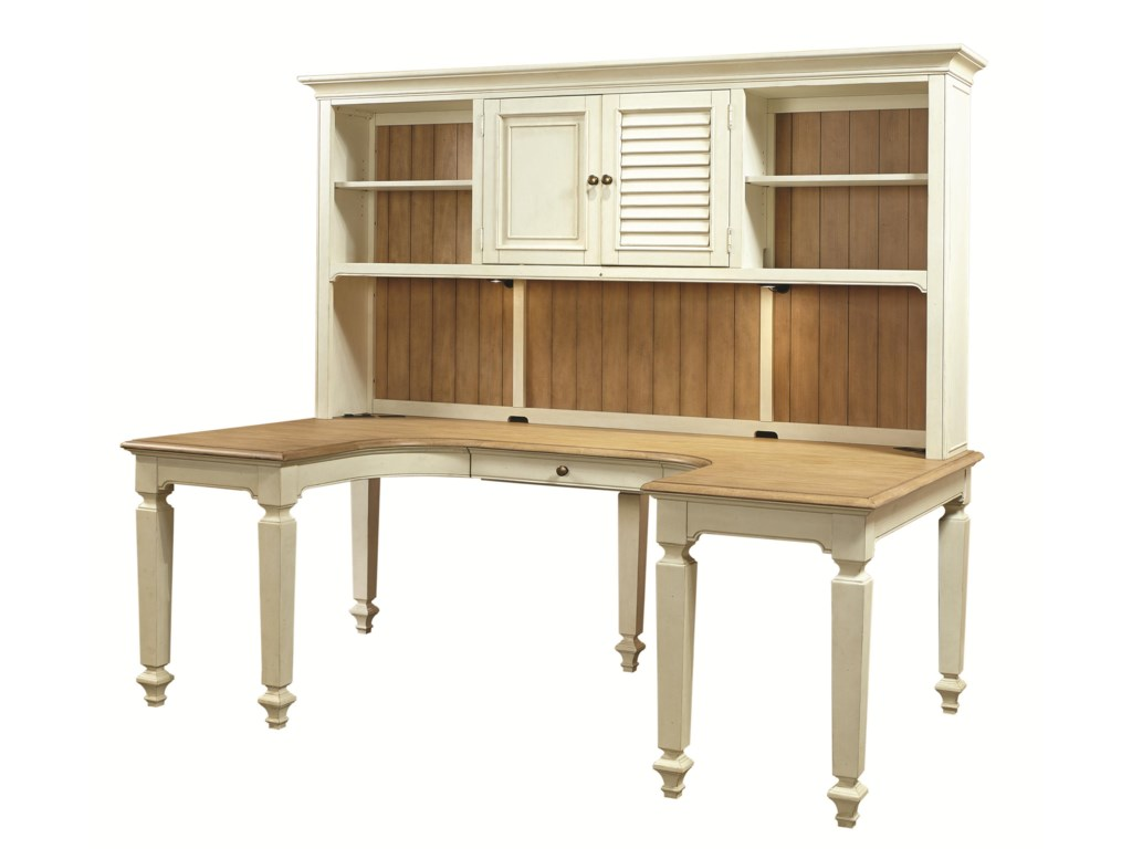 Aspenhome CottonwoodDesk and Hutch