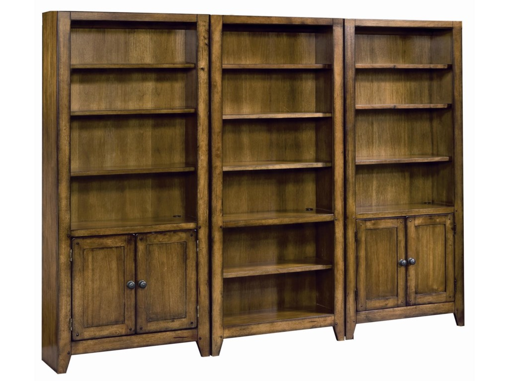 Shown with Door Bookcases as Bookcase Wall