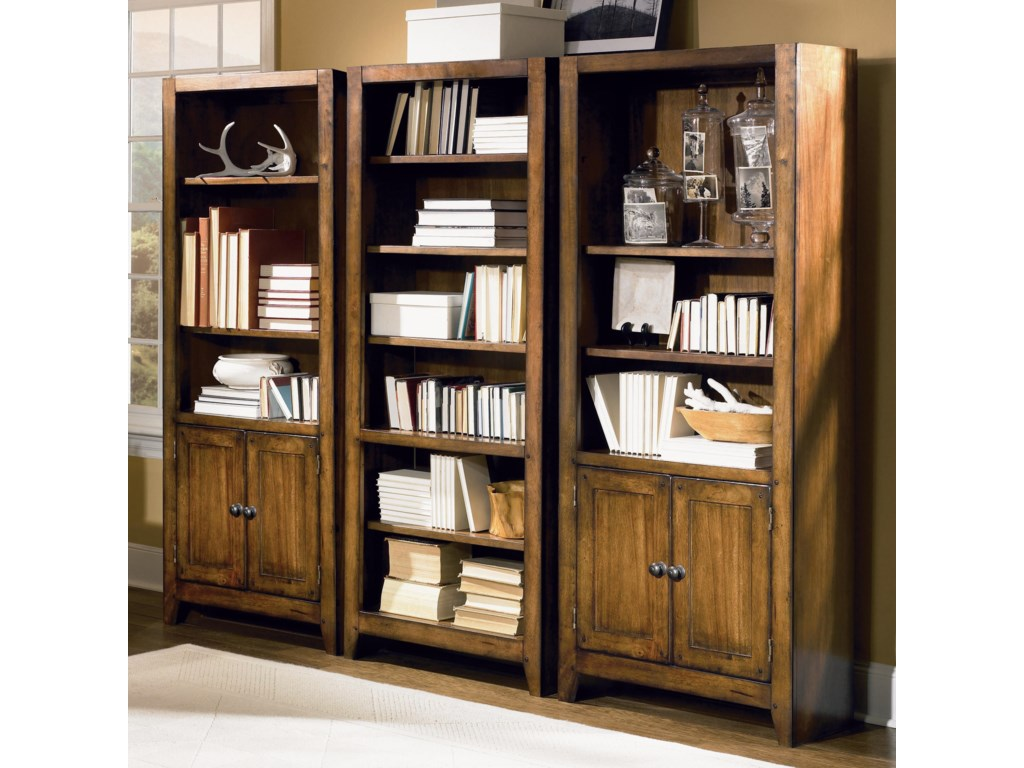 Shown as Bookcase Wall
