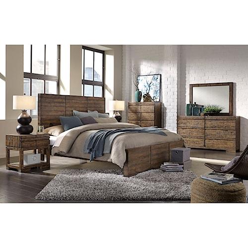 Aspenhome Dimensions California King Bedroom Group