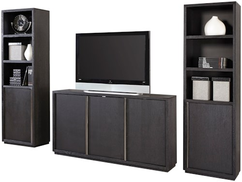 Aspenhome (Clackamas Store Only) District Entertainment Wall with Five Doors
