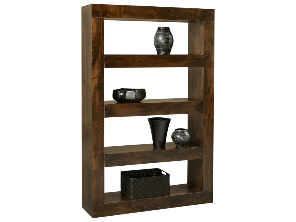 Aspenhome Nova AlderOpen Display Case