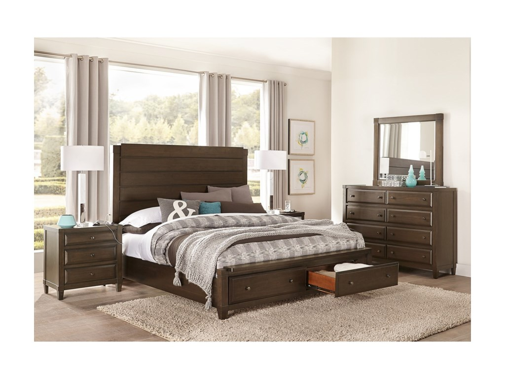 Aspenhome EastonCal King Bedroom Group