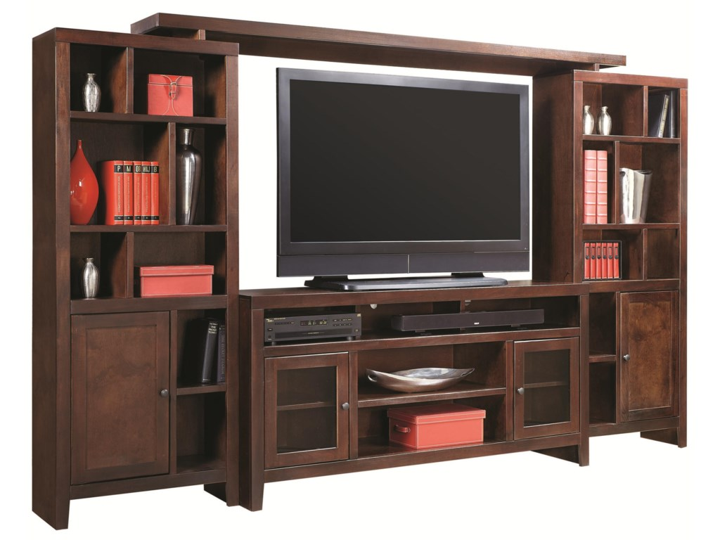 Aspenhome Essentials Lifestyle120 Inch Entertainment Wall Unit