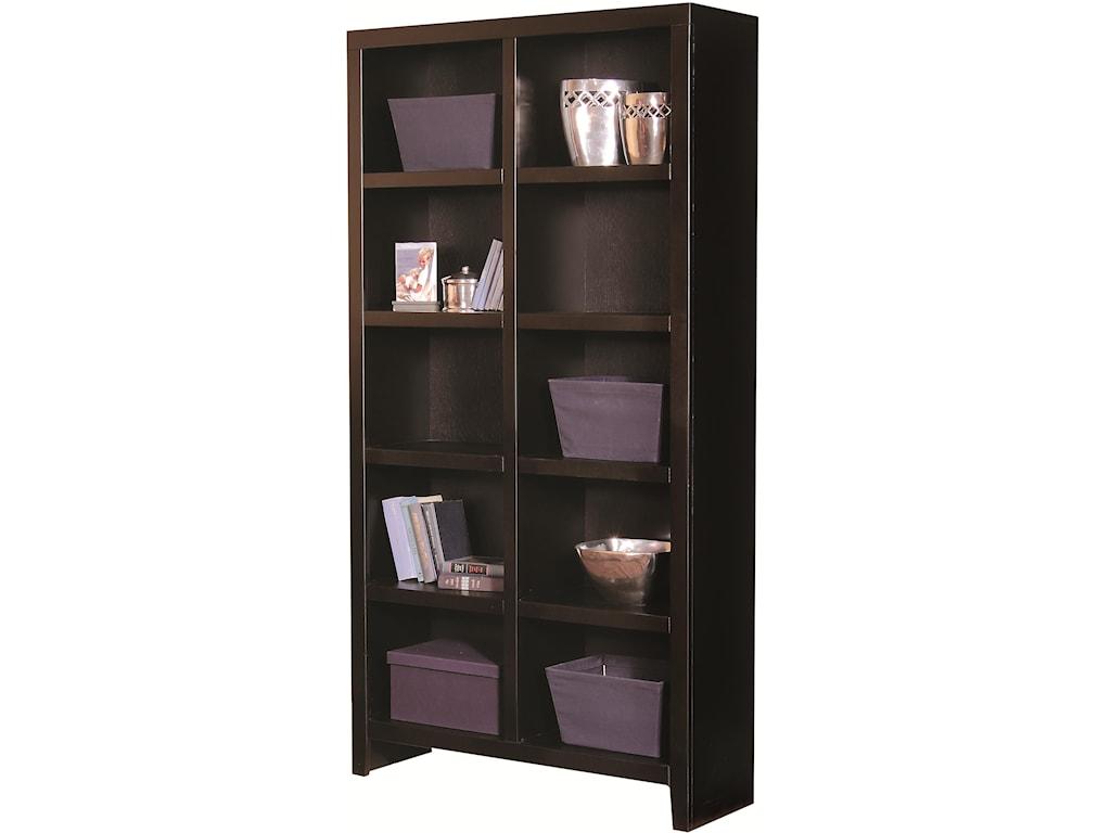 Aspenhome Essentials Lifestyle77 Inch Cube Bookcase