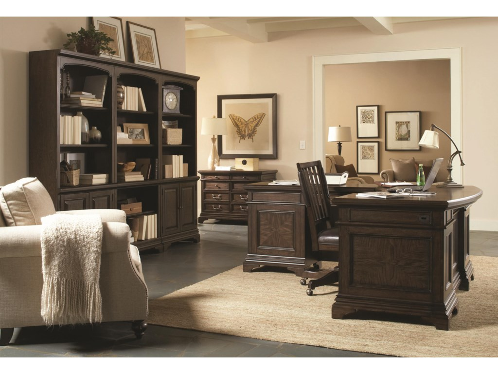 Highland Court AddamsAddams 2 Door Bookcase