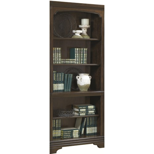 Aspenhome Essex Open Bookcase with 5 Shelves