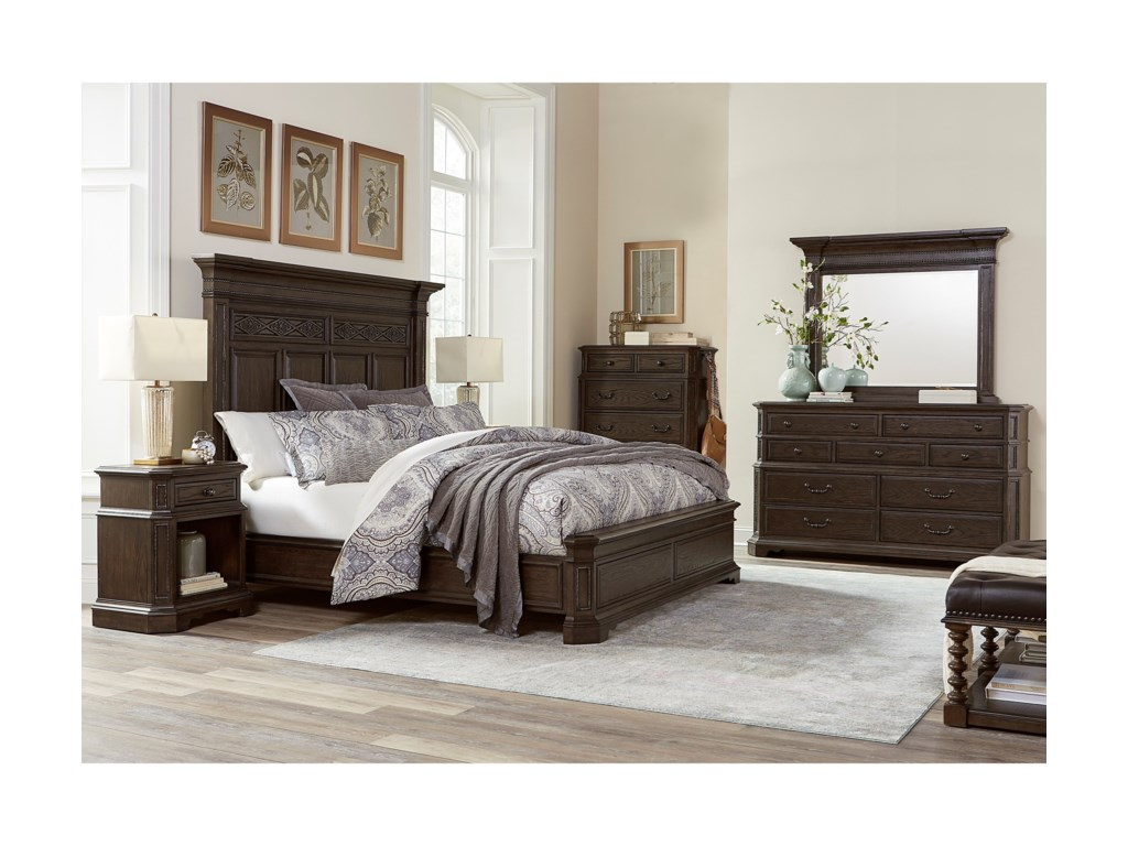 Aspenhome FoxhillQueen Bedroom Group