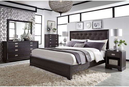Aspenhome (Clackamas Store Only) Front Street Queen Bedroom Group
