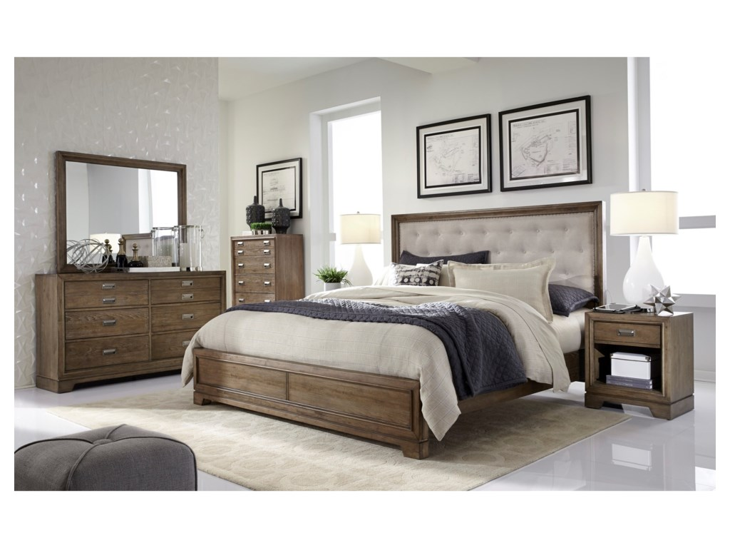 Aspenhome Front StreetQueen Bedroom Group