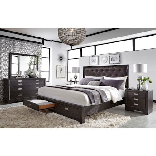 Aspenhome Front Street King Bedroom Group