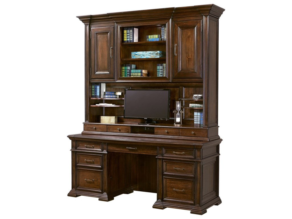 Aspenhome Grand ClassicCredenza with Hutch