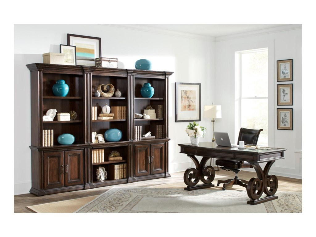Highland Court Grand ClassicOpen Bookcase