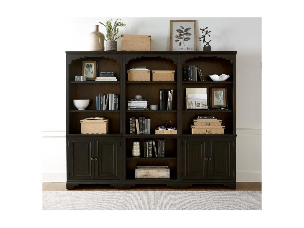 Aspenhome HamptonOpen Bookcase