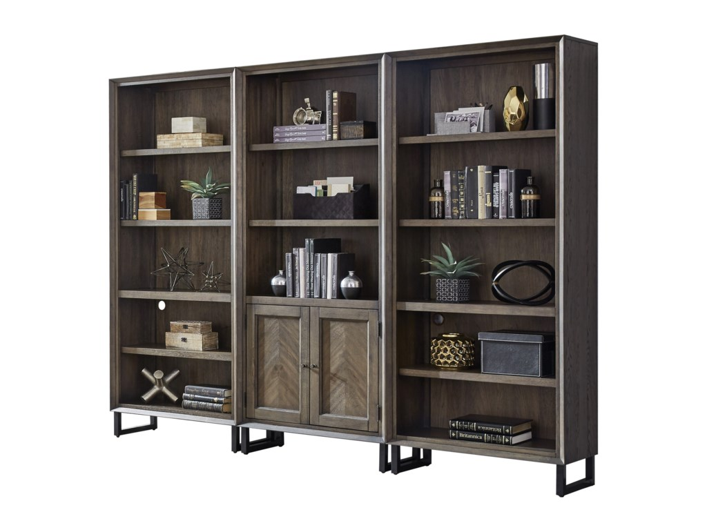 Aspenhome (Clackamas Store Only) Harper PointOpen Bookcase