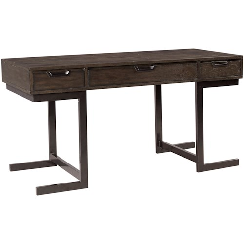 Aspenhome Harper Point Contemporary Desk with Drop-Front Drawer