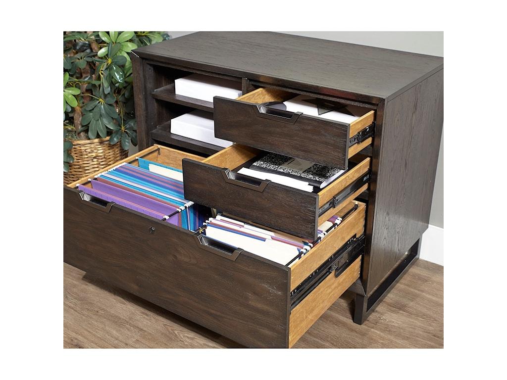 Aspenhome Harper PointCombo File Cabinet