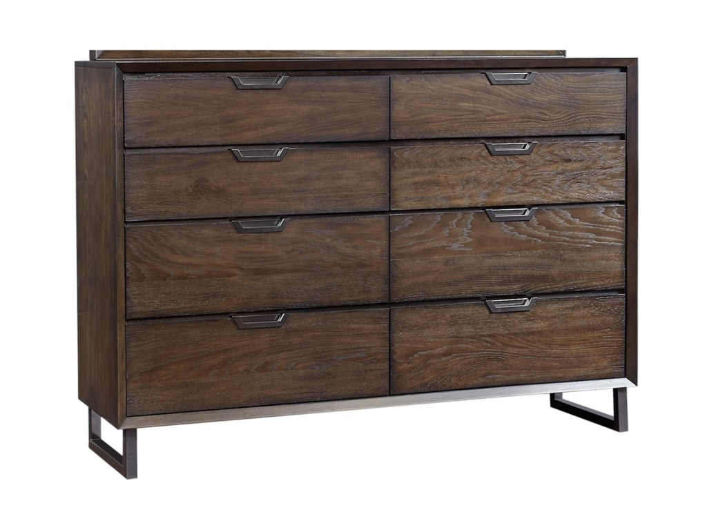 Aspenhome Harper Point8 Drawer Chesser